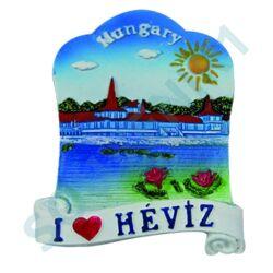 HŰTŐMÁGNES KEPES POLIRESIN I love Hévíz