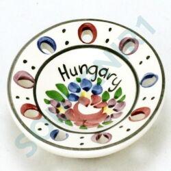 HŰTŐMÁGNES VÁROSLŐDI KERÁMIA, tányér