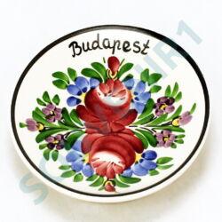 TÁNYÉR VÁROSLŐDI MINI Budapest felirattal
