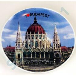 TÁNYÉR I LOVE BUDAPEST 20CM