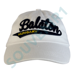 BASEBALL SAPKA KEPES HUNGARY, BALATON - Balaton felirattal, fehér